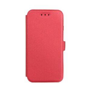 3-Book-Case-Flexi-Huelle-Etui-Handy-Tasche-Buch-Form-Huawei-Nova-2i-Rot