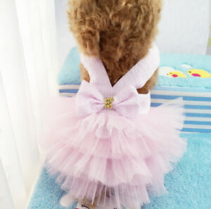 Dog Dress Small Medium Pet Clothing Puppy Clothes For Chihuahua