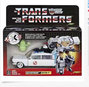 Novo Na Mão ectotron Transformers Ghostbusters Ecto 1 Em Estoque ToysHero