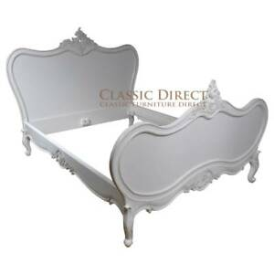 Bed-King-French-Provincial-Antique-White-Reproduction-SRP-3000