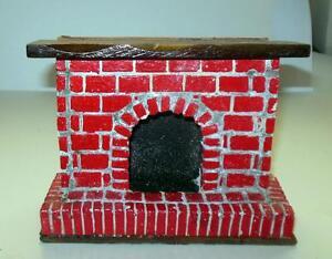 Dollhouse Miniature Victorian Fireplace by Unique Miniatures