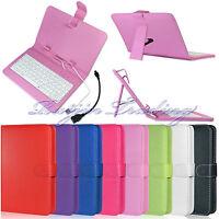 7 Inch Stand PU Leather Case Cover For Hisense Sero 7 PRO LT USB Keyboard + OTG