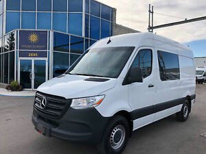 "2019 Mercedes-Benz Sprinter Wagon Sprinter 2500 -CREW - Cargo - 144""WB-Highroof"