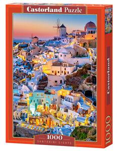 Castorland - Puzzle 1000 Pieces - Santorini Lights TOY NEW