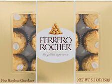 Ferrero Rocher Fine Hazelnut Chocolate 5.30 oz (Pack of 3)