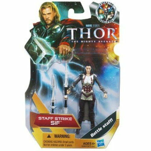 Hasbro Thor: The Mighty Avenger Action Figure  16 Staff Strike Sif 3.75 in