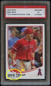 MIKE-TROUT-TOPPS-ROOKIE-OF-THE-YEAR-CARD-1ST-GRADED-10-LA-LOS-ANGELES-ANGELS