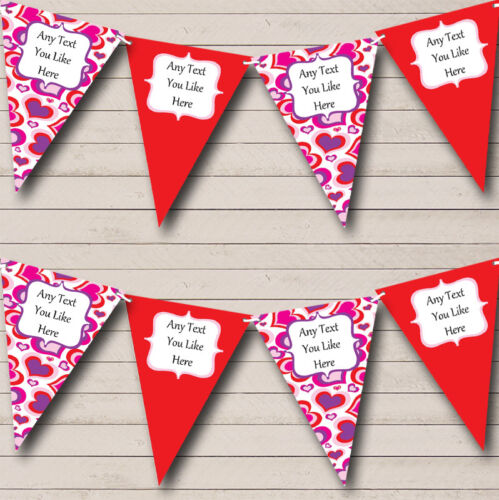 Personalised Children/'s Birthday Party Banner Bunting Decoration Lots Of Designs