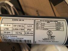 Somfy Oximo 50 S Auto io 6//17 Roller Shutter Motor 230 V AC Steel Shaft 60 MM