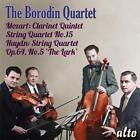 Streichquartett D-Dur/Klarinettenquintett in A-Dur von Borodin Quartet,Mozgovenko (2015)
