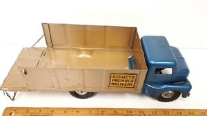 1950-039-s-STRUCTO-Package-Delivery-Truck-Really-Nice-Original-Condition