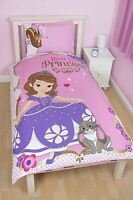 Disney Sofia The First Amulet Single Duvet Cover & Pillowcase Bedding Set