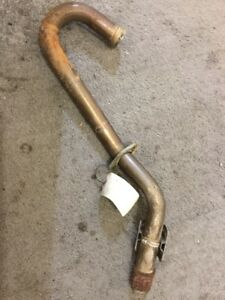 06-14-HONDA-TRX450R-TRX450ER-OEM-HEADER-PIPE-EXHAUST-HEADERS-FLANGE-CLAMP