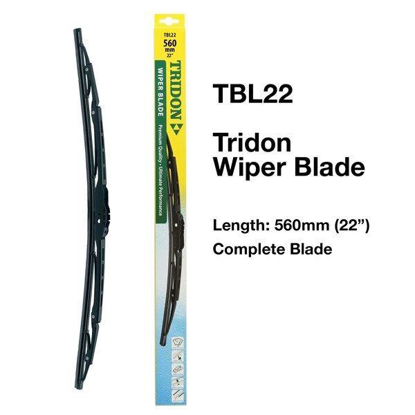 "TRIDON TBL22 - WIPER COMPLETE BLADE - 560MM 22"" - METAL PREMIUM TBL SERIES"
