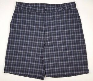 6f23688bc9d UNDER Armour GOLF Shorts 39 GRAY Checked MENS Size 1201027 SZ Flat ...