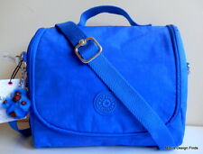 KIPLING Kichirou Lunch Bag *NEW* Insulated Crossbody Cobalt Blue with Monkey NWT