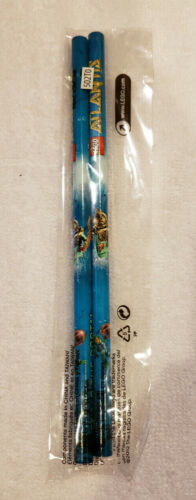 new and sealed LEGO Atlantis pencil set of two