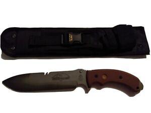 Tops Tacoma Field Knife 7 3/4 inch blade acid wash color full Tang micarta grip