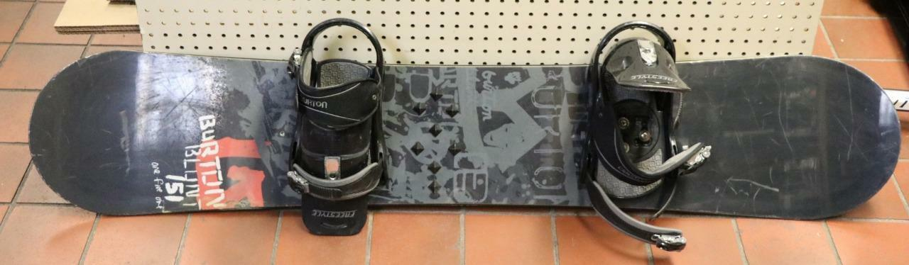 Burton bluent 151 Snowboard 151cm w Burton Freestyle Bindings