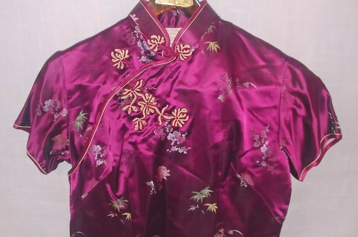 Classic Traditional Asian Chinese Cheong-sam Qipa… - image 4