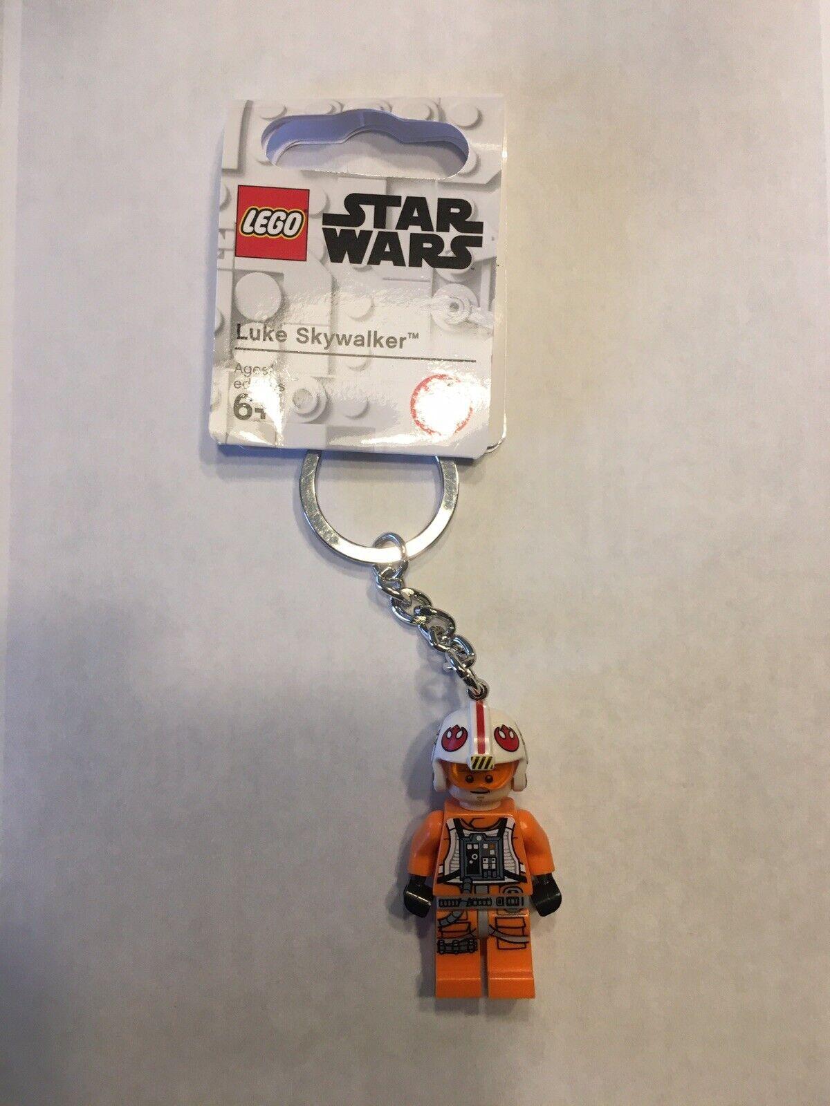 LEGO Star Wars Luke Skywalker #853947 Mini Figure Keychain Key Ring New