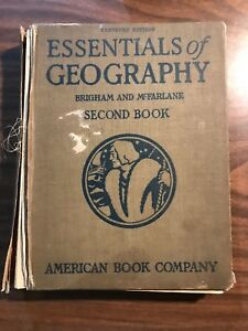 Essentials-Of-Geography-Brigham-and-McFarlane-2nd-Book-1916-Binding-Dmg