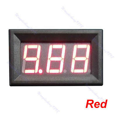 DC0-10A Ampere LED Amp Panel Meter 3Bit Display No Need Shunt Digital Ammeter