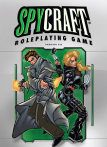 Spycraft 2.0 (1st Printing) Mint Condition (Alderac Entertainment Group) AEG1829