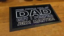 Papà Maestro Jedi Citazione Giorno Di Padri Bar runner Birra tappetino Pub e