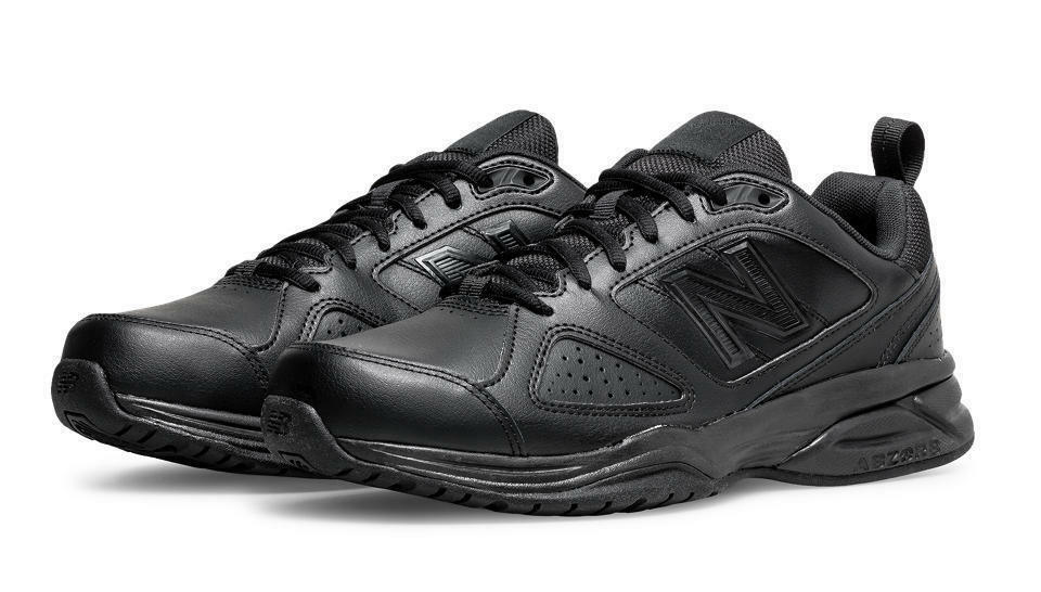 New Balance Mens MX624AB4 Width 2E 2E 2E  4E 6E Extra Wide Black Trainer shoes d960d7