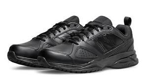 New-Balance-Hommes-MX624AB4-Largeur-2E-4E-6E-Extra-Large-Noir-Baskets-Chaussures