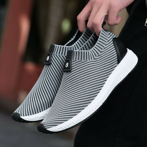 Mens Tennis Jogging Sock Shoes Running Training Sport Shoes Outdoor Travel Ths01