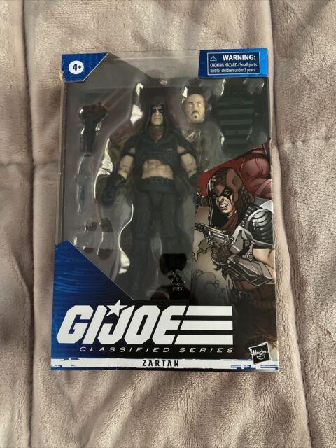 Hasbro GI Joe Classified Series Cobra in Hand Zartan 6 inch Action Figure*Damage
