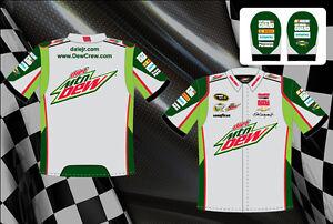 Nascar Pit Crew Shirts >> Dale Earnhardt Jr Diet Dew Shirt Nascar Pit Crew Shirt Green Gray