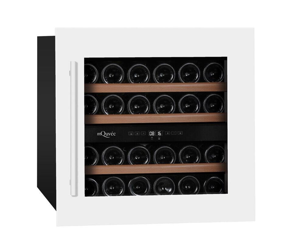 Integrérbare Vinkøleskabe 34 flasker - 50% Rabat!