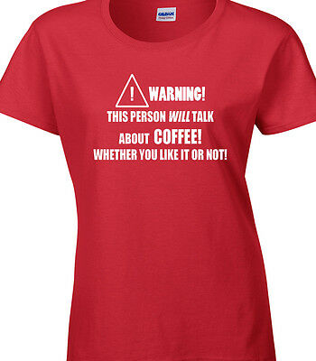 Coffee Ladies T-Shirt Gift Idea Barista Occupation Cafe Work Job Workplace Hobby