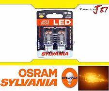 OB Sylvania ZEVO LED light Bulb 7443 Amber Orange Brake Stop Turn Signal Lamp
