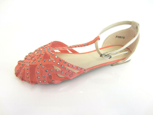 Spot On F0R678 Ladies Sandals Turquoise or Coral UK 4 /& 5 R21B  Floor