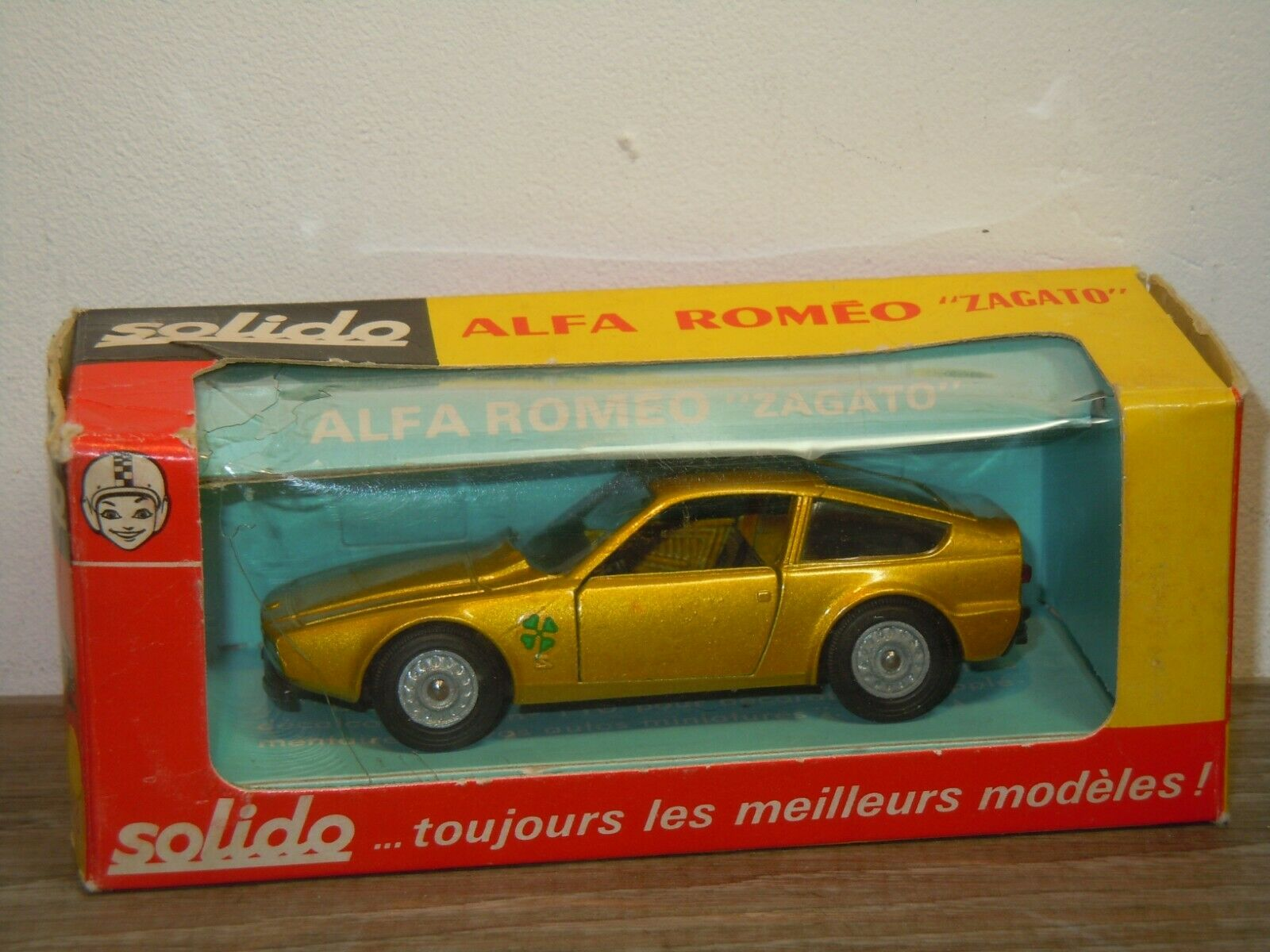Alfa Romeo Zagato - Solido 183 France 1 43 in Box 36966