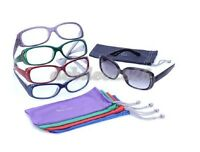 Joy Mangano Colorful 10 Piece Reading Glasses & Sun Readers