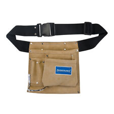 IRWIN Nail /& Tool Pouch 9 Pocket w//Hammer Loop Leather MEX 4031065