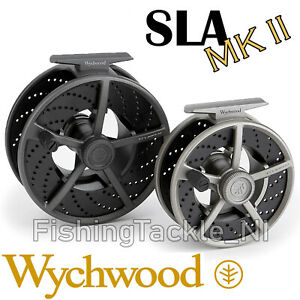 Wychwood-SLA-MKII-Large-Arbor-Cassette-Fly-Fishing-Reel-With-2-Spare-Spools
