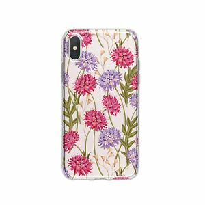 Floral iPhone XR 7 8 Plus Case Orchid iPhone 11 X 12 Cover Nature iPhone XS Case