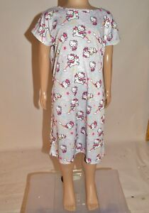 M S Hello Kitty Unicorn Rainbows Nightdress PJs Nighty Nightie Age 2 ... 5e1f62147