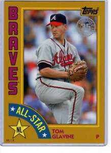Tom-Glavine-2019-Topps-1984-Topps-All-Stars-Oversize-5x7-Gold-84AS-TGL-10-Brav