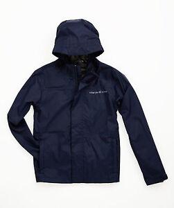 VINEYARD VINES Boys Beacon Full Zip Jacket BLUE BLAZER M or L Windbreaker $98