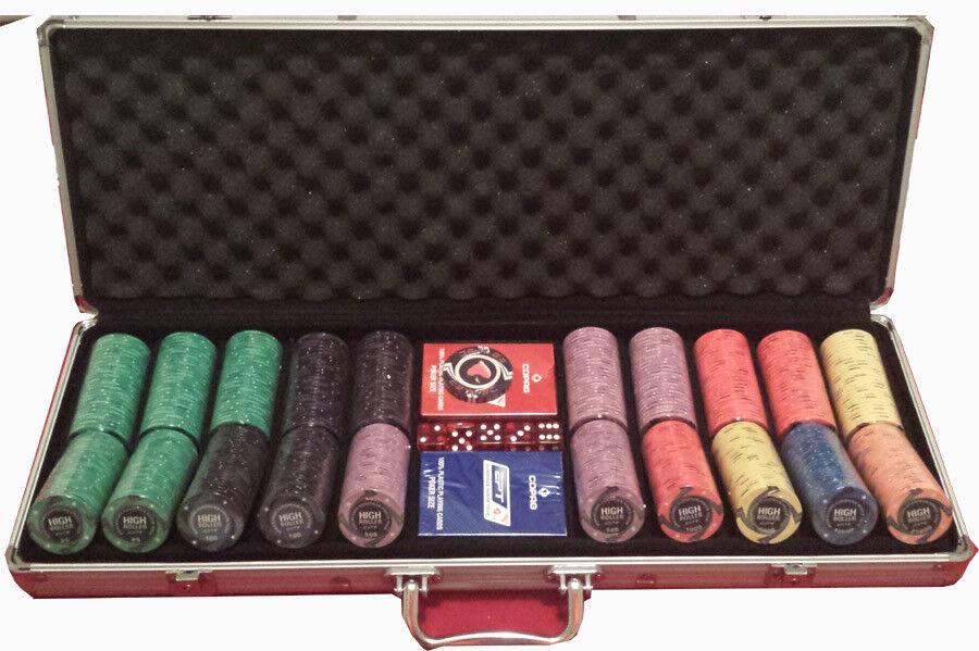 Une nouvelle génération, nouvelle sélection! Set Set Set completo 500 Fiches Ceramica EPT High Roller Replica 65b3b0