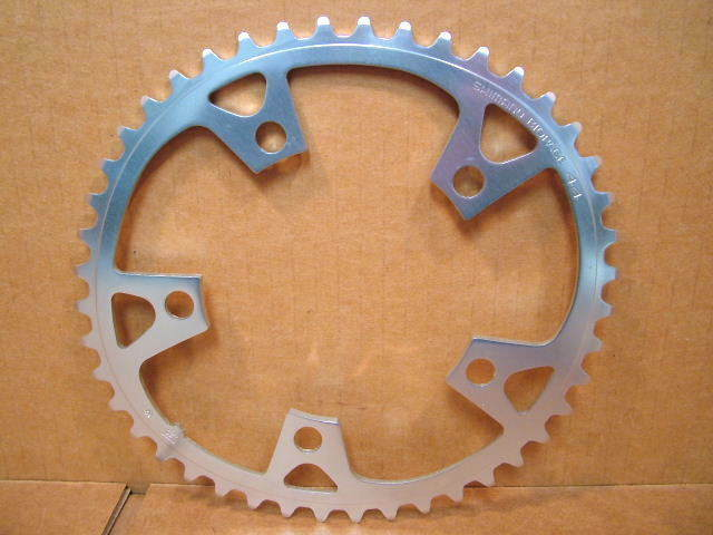 New-Old-Stock Shimano Biopace Chainring...44T w 110mm BCD (Deore Quality)