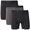 thumbnail 1 - 32 Degrees Cool Boxer Trunks Shorts Brief Performance Mesh 3 Pack SMALL Black