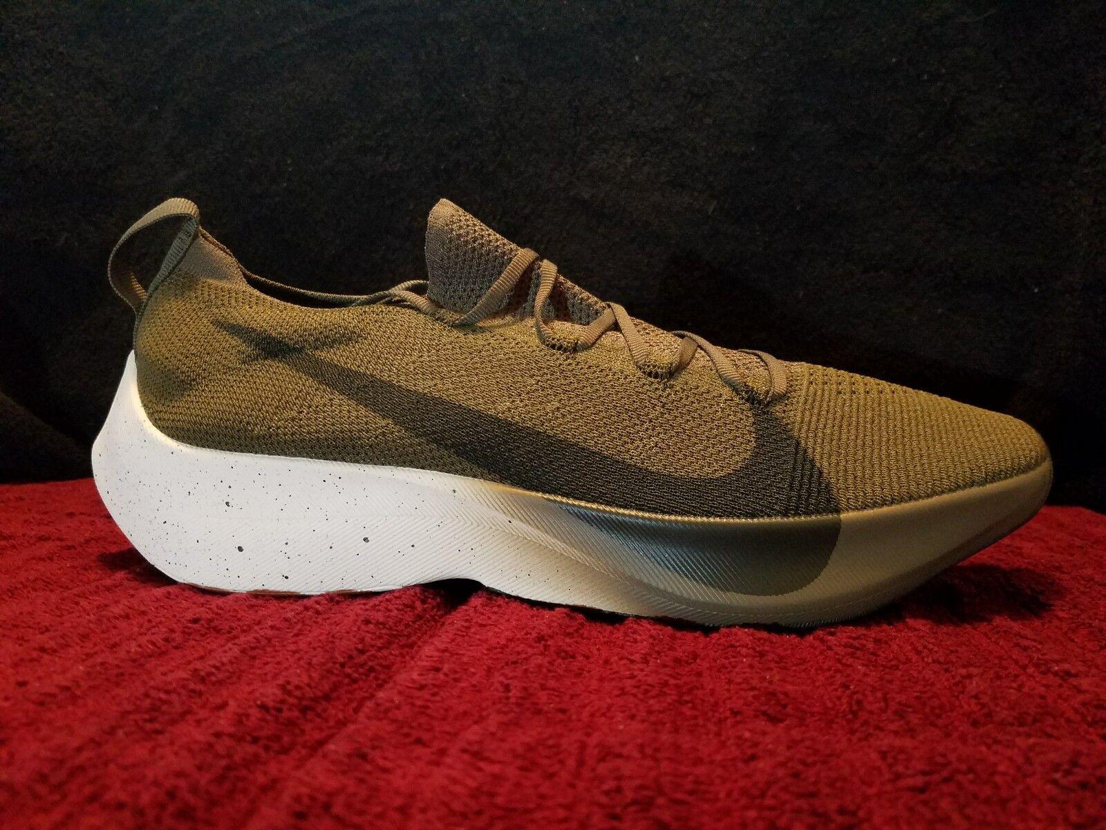 Nike React Vapor Street Flyknit Olive AQ1763-201 size 11